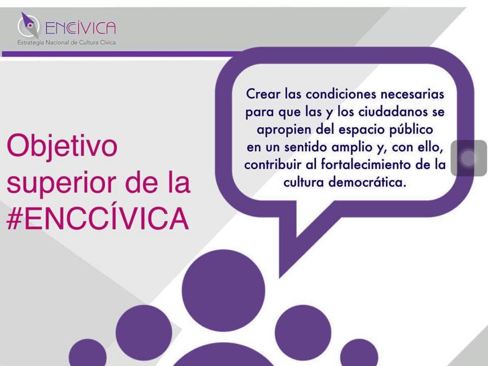 OBJETIVO #ENCCívica