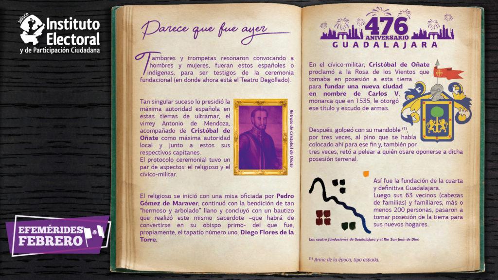 Aniversario de Guadalajara