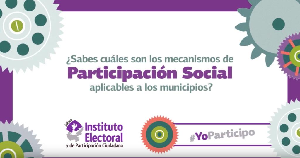 Mecanismos de participación social