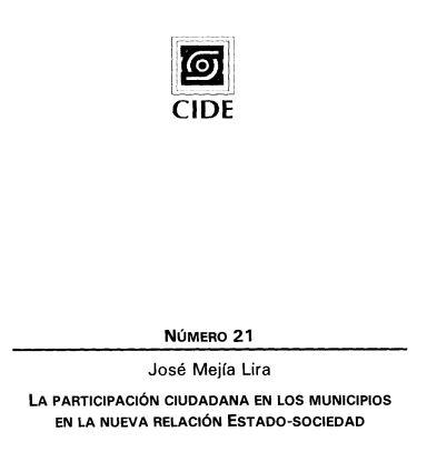 Cuaderno CIde