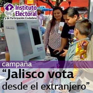 Jalisco vota desde el extranjero