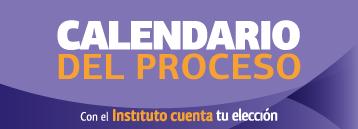 Calendario del proceso
