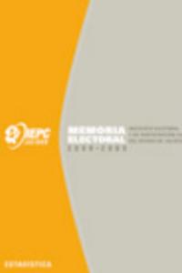 Memoria electoral 2008-2009 - Estadística